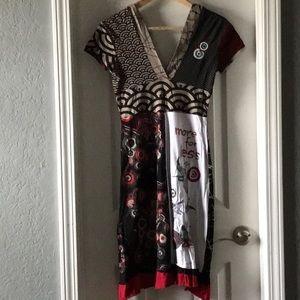 Desigual Dresses - Desigual midi cotton dress